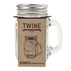 Twine - Mason Jar Drinking Glass (450ml)